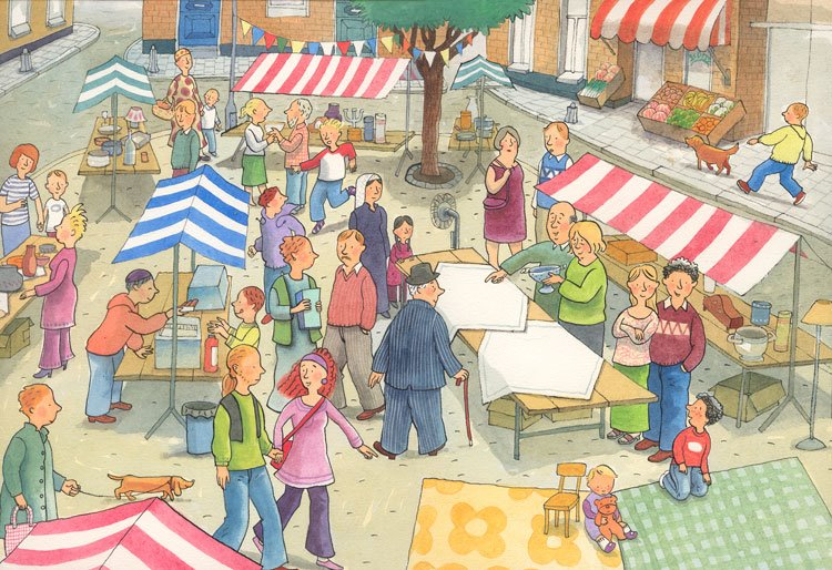 Rommelmarkt Bakkeveen 05-09-15